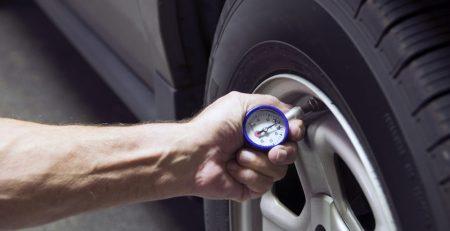 تنظیم فشار باد تایر